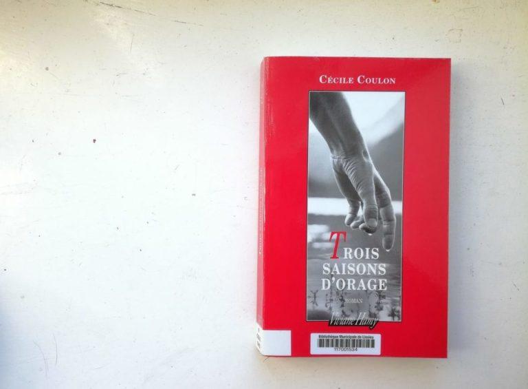 Trois saisons d'orage Cécile Coulon
